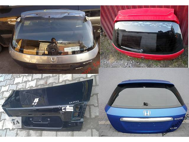бу Б/у крышка багажника для легкового авто Honda Civic vii в Львове