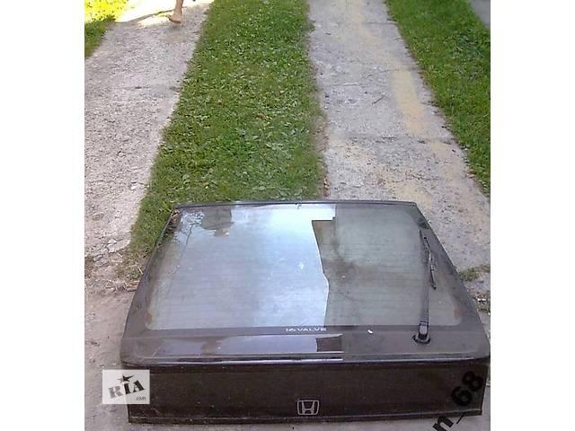 продам Б/у крышка багажника для легкового авто Honda CRX бу в Львове