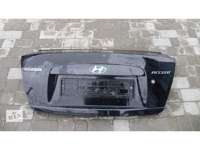 продам Б/у крышка багажника для легкового авто Hyundai Accent 2008 бу в Коломые