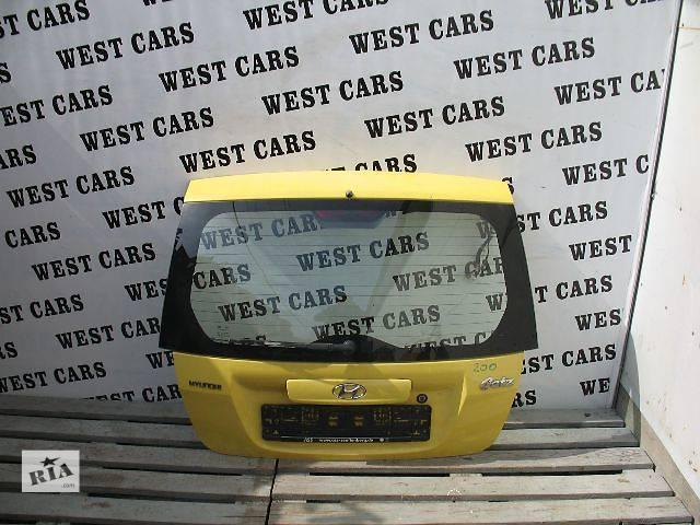 продам Б/у крышка багажника для легкового авто Hyundai Getz Hatchback 5D бу в Луцке