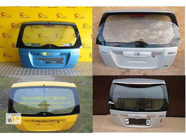 продам Б/у крышка багажника для легкового авто Hyundai Getz бу в Львове