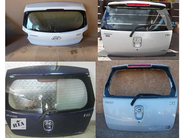 продам Б/у крышка багажника для легкового авто Hyundai i10 бу в Львове