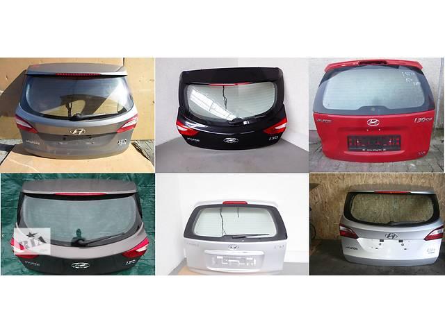 продам Б/у крышка багажника для легкового авто Hyundai i30 бу в Львове