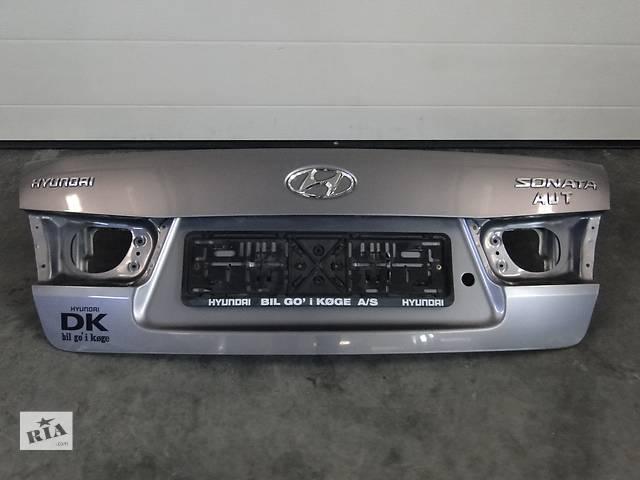 Б/у кришка багажника для легкового авто Hyundai Sonata 06-08р.- объявление о продаже  в Львове