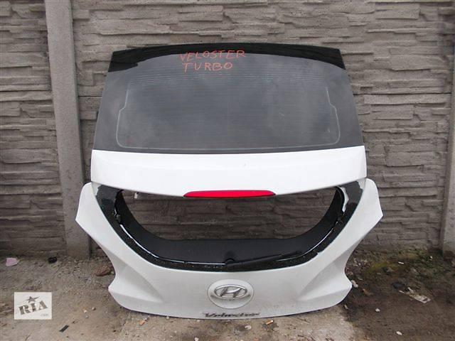 купить бу Б/у крышка багажника для легкового авто Hyundai Veloster в Львове
