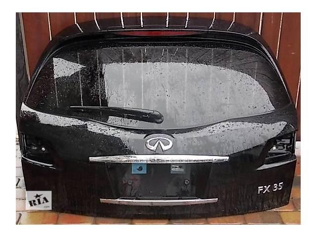 продам Б/у крышка багажника для легкового авто Infiniti FX бу в Ровно