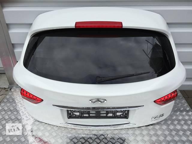 продам Б/у крышка багажника для легкового авто Infiniti FX бу в Львове