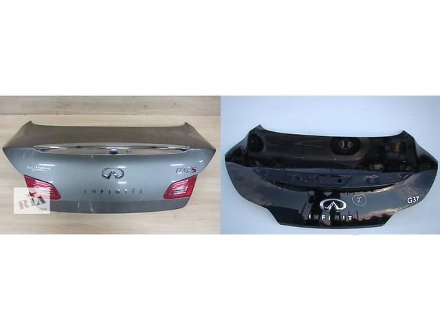 бу Б/у крышка багажника для легкового авто Infiniti G35 в Львове