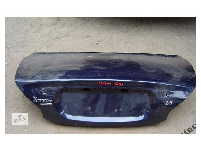 бу Б/у крышка багажника для легкового авто Jaguar X-Type в Львове
