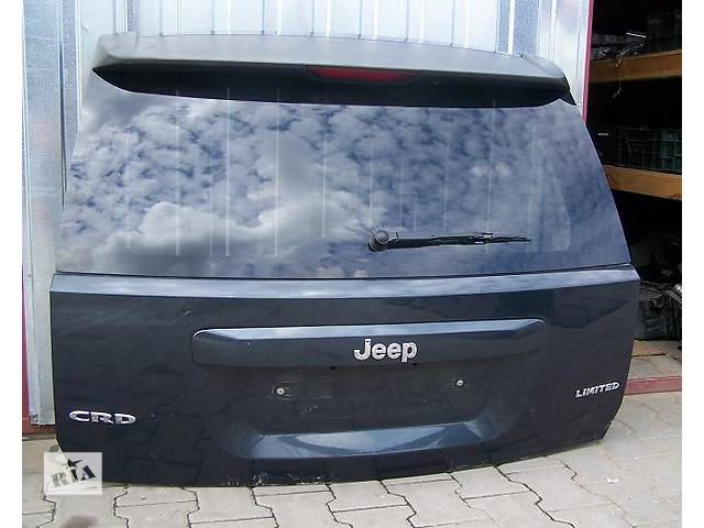 бу Б/у крышка багажника для легкового авто Jeep Compass в Львове