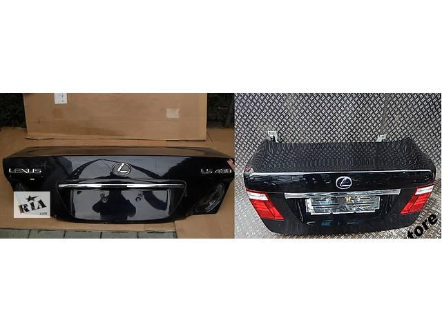 продам Б/у крышка багажника для легкового авто Lexus LS бу в Львове