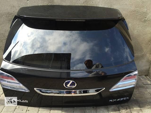 бу Б/у крышка багажника для легкового авто Lexus RX450 в Львове