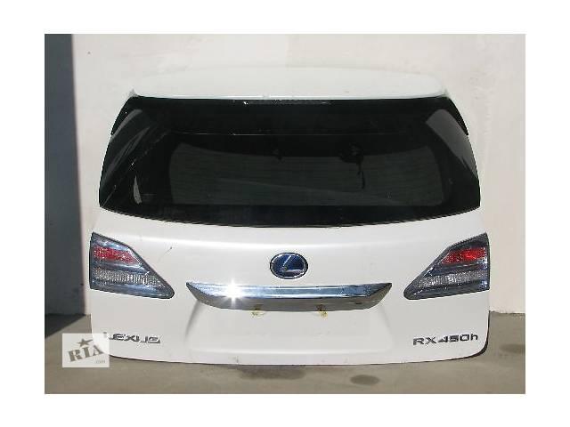 продам Б/у крышка багажника для легкового авто Lexus RX бу в Ровно