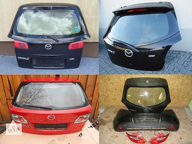 Б/у крышка багажника для легкового авто Mazda 2- объявление о продаже  в Львове