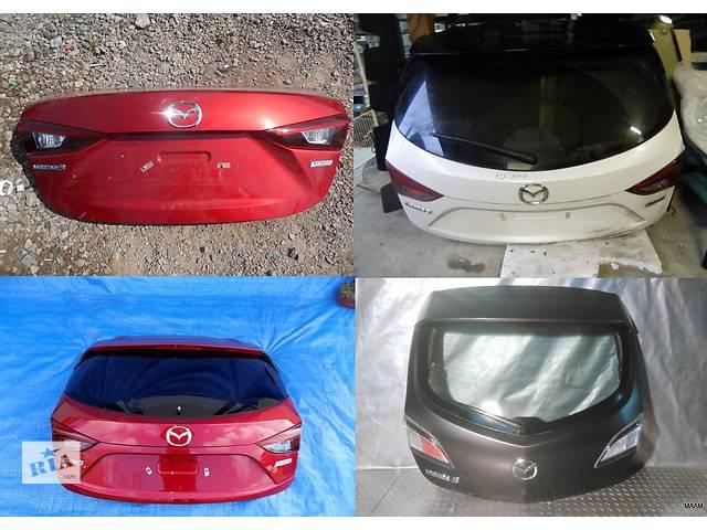 продам Б/у крышка багажника для легкового авто Mazda 3 бу в Львове