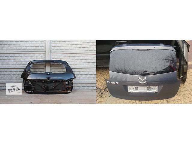 продам Б/у крышка багажника для легкового авто Mazda 5 бу в Львове