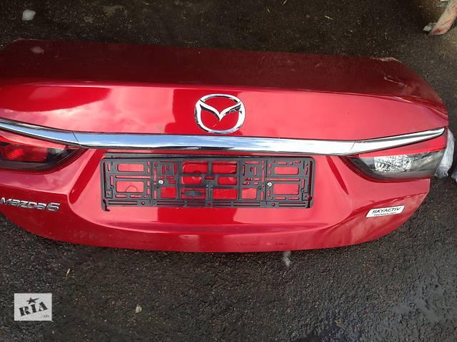 продам Б/у крышка багажника для легкового авто Mazda 6 бу в Ровно