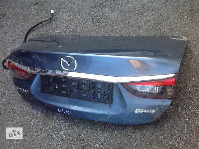 бу Б/у крышка багажника для легкового авто Mazda 6 в Ровно