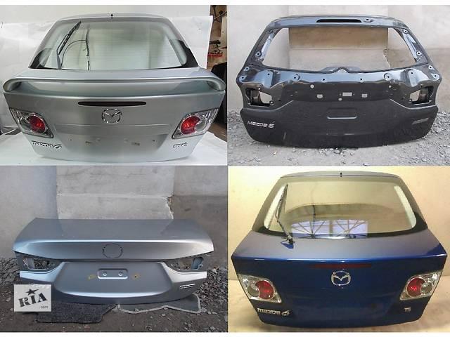 купить бу Б/у крышка багажника для легкового авто Mazda 6 в Львове