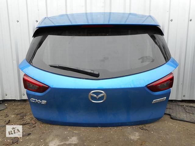 купить бу Б/у крышка багажника для легкового авто Mazda CX-3 в Львове