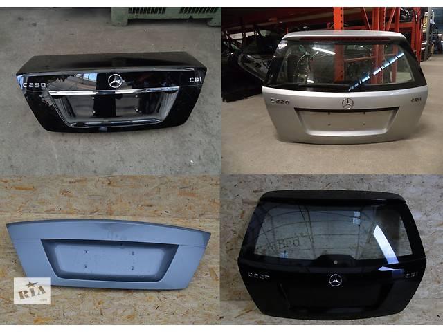 продам Б/у крышка багажника для легкового авто Mercedes C-Class w204 07-14 бу в Львове