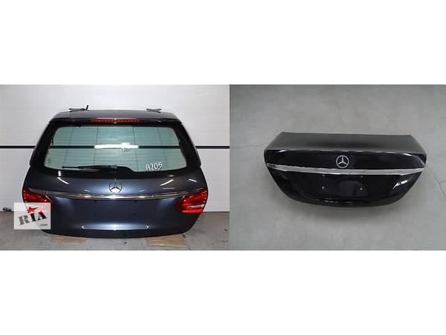 купить бу Б/у крышка багажника для легкового авто Mercedes C-Class w205  14- в Львове