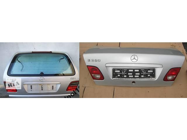 Б/у крышка багажника для легкового авто Mercedes E-Class w210 00-02- объявление о продаже  в Львове
