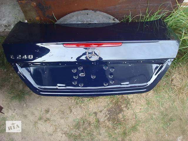 бу Б/у крышка багажника для легкового авто mercedes e-class w211 в наявності!!! в Львове