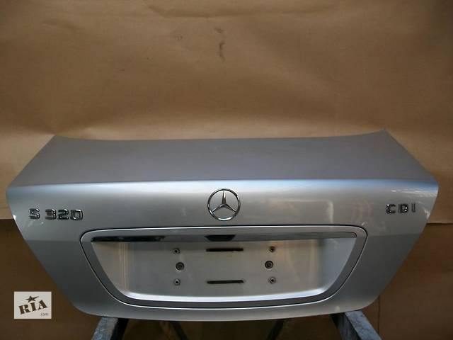 бу Б/у крышка багажника для легкового авто Mercedes S-Class w220 00-05 в Львове