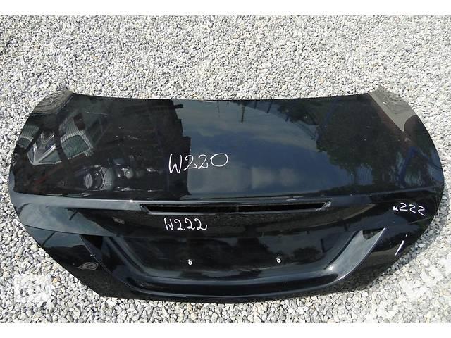 купить бу Б/у крышка багажника для легкового авто Mercedes S-Class w222 13- в Львове