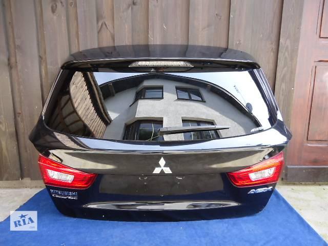 продам Б/у крышка багажника для легкового авто Mitsubishi ASX бу в Ровно