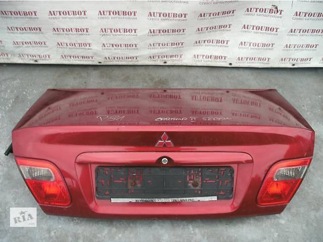продам Б/у крышка багажника для легкового авто Mitsubishi Carisma бу в Львове