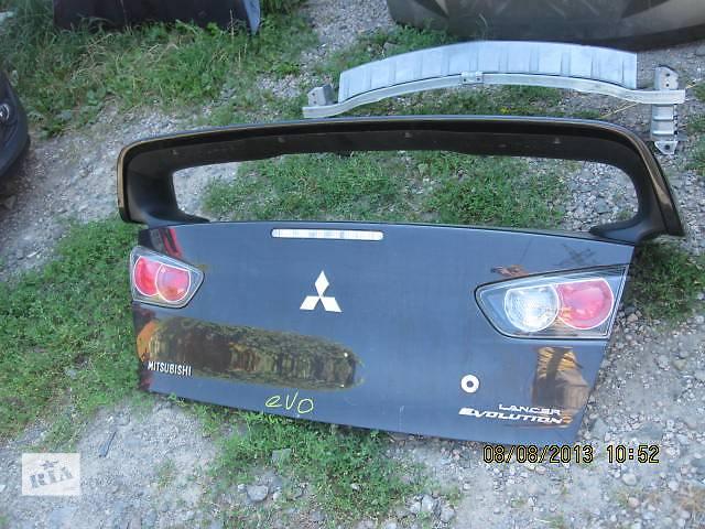 продам Б/у крышка багажника для легкового авто Mitsubishi Lancer Evolution бу в Ровно