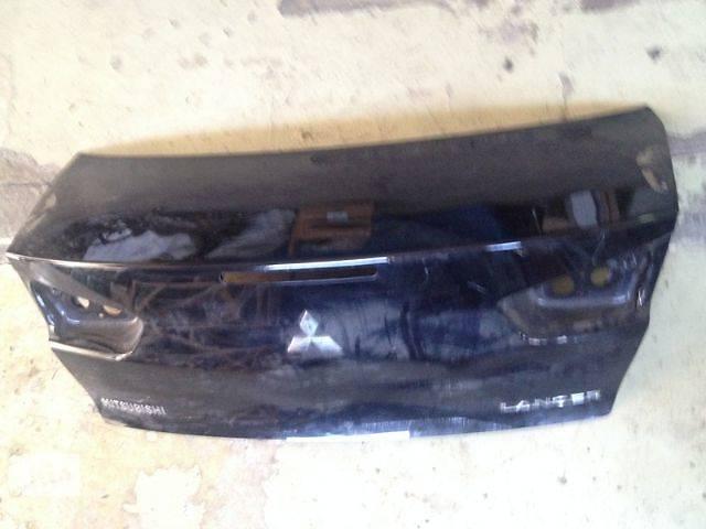 бу Б/у крышка багажника для легкового авто Mitsubishi Lancer X в Днепре (Днепропетровск)