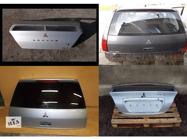 Б/у крышка багажника для легкового авто Mitsubishi Lancer- объявление о продаже  в Львове