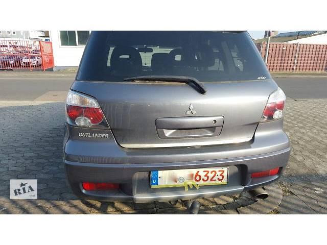 купить бу Б/у крышка багажника для легкового авто Mitsubishi Outlander 2007 в Киеве
