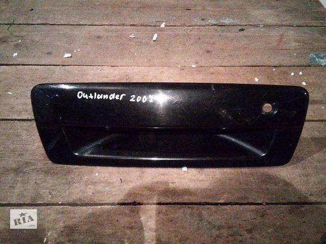 продам Б/у крышка багажника для легкового авто Mitsubishi Outlander ДЕШЕВО В НАЛИЧИИ!!! бу в Львове