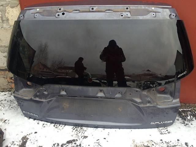 продам Б/у крышка багажника для легкового авто Mitsubishi Outlander XL бу в Киеве