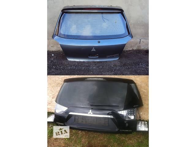 продам Б/у крышка багажника для легкового авто Mitsubishi Outlander бу в Львове