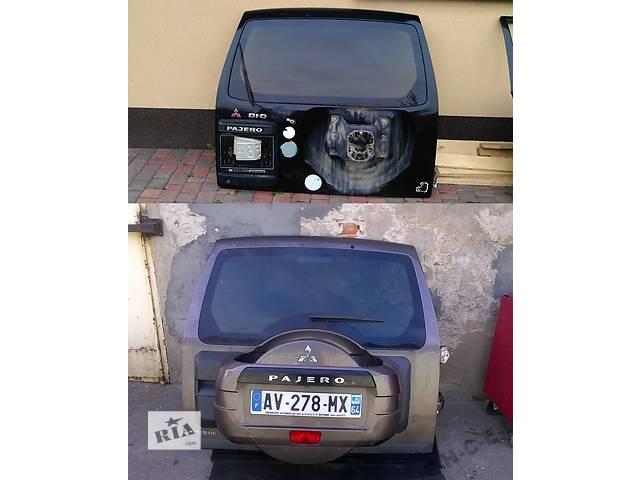 продам Б/у крышка багажника для легкового авто Mitsubishi Pajero бу в Львове