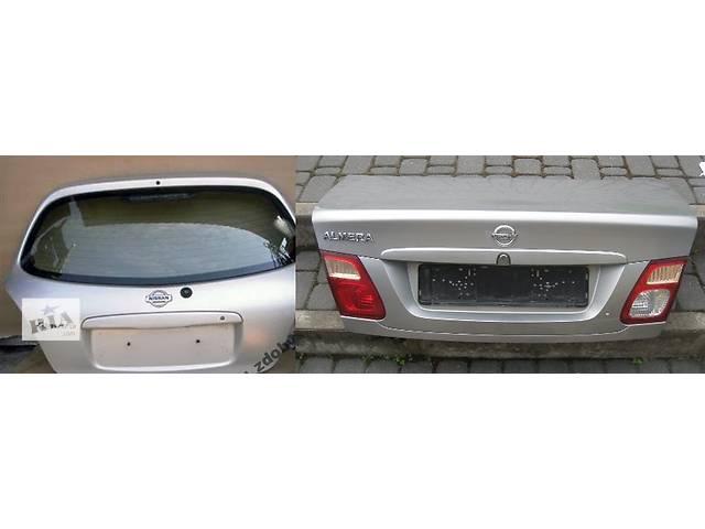 бу Б/у крышка багажника для легкового авто Nissan Almera n16 в Львове