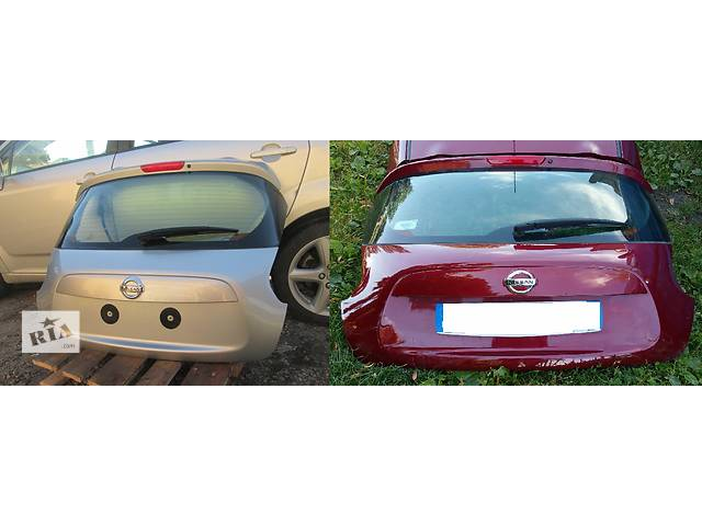 Б/у крышка багажника для легкового авто Nissan Juke- объявление о продаже  в Львове