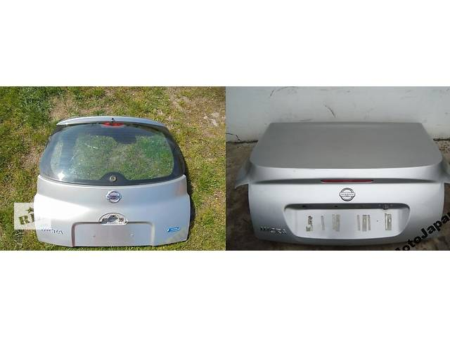 Б/у крышка багажника для легкового авто Nissan Micra k12- объявление о продаже  в Львове