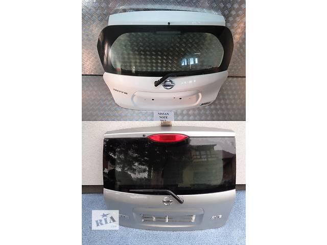 Б/у крышка багажника для легкового авто Nissan Note- объявление о продаже  в Львове