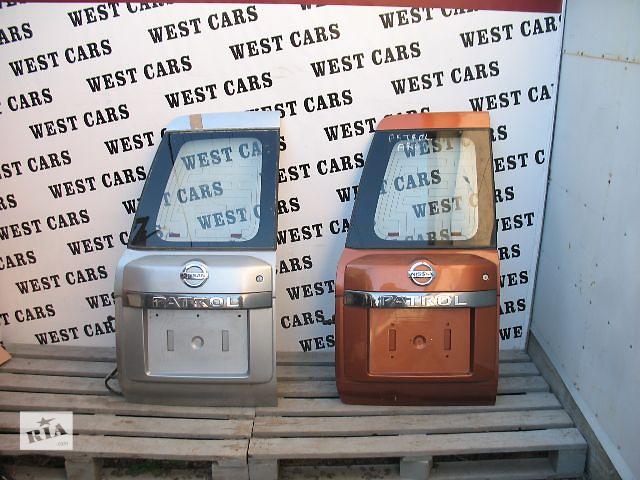 бу Б/у крышка багажника для легкового авто Nissan Patrol 2006 в Луцке