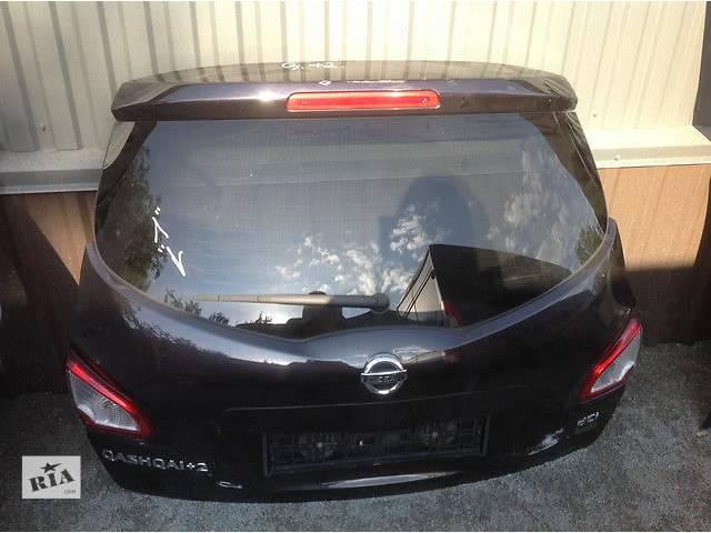 продам Б/у крышка багажника для легкового авто Nissan Qashqai+2 бу в Ровно