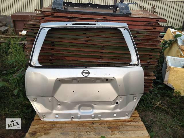 продам Б/у крышка багажника для легкового авто Nissan X-Trail бу в Львове