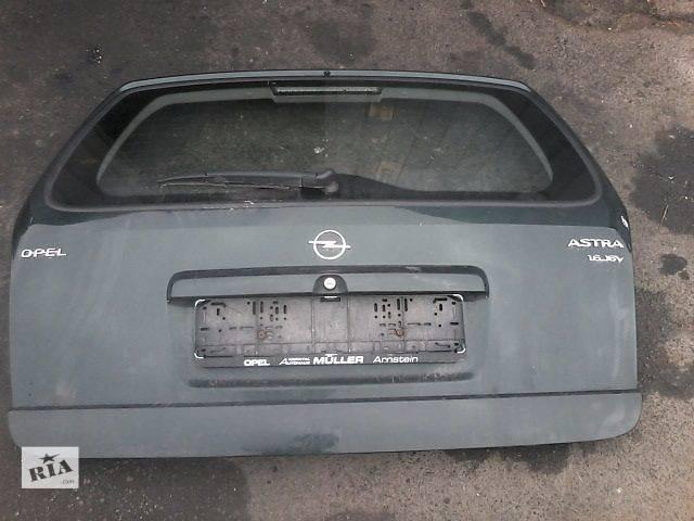 Б/у крышка багажника для легкового авто Opel Astra G- объявление о продаже  в Луцке