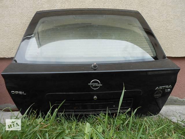 купить бу Б/у крышка багажника для легкового авто Opel Astra G в Киеве