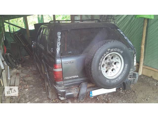 продам Б/у крышка багажника для легкового авто Opel Frontera бу в Львове